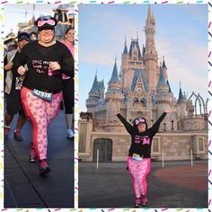 Run right down Main St. USA and to Cinderella Castle in these Minnie Mouse inspired running capris. Perfect for run disney races or any park day. Run Disney Costumes, Running Costumes, Disney Outfits, Plus Size Disney, Disney Races, Cinderella Castle, Instagram Worthy, Hollywood Studios, Yoga Fashion