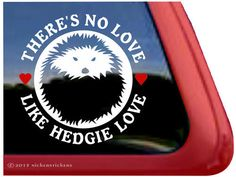 Hey, I found this really awesome Etsy listing at https://www.etsy.com/listing/175652009/theres-no-love-hedgehog-dc914nl-high