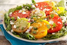 This tomato salad is a summertime must. The standout dressing takes these tasty ingredients to a bra... - Provided by Reader's Digest (Association) Canada ULC