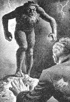 Were the Woodwoses of medieval legend a British equivalent of Bigfoot?  In medieval art and literature there are many references to savage, hairy creatures, part man and part beast. They are known as 'Woodwoses', from the Anglo-Saxon meaning 'man-of-the-wood'.