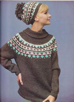 1967 Woman's Day Knitting Patterns Book by allthepreciousthings