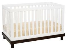 Baby Mod Olivia 3 in 1 Convertible Crib in Espresso and White Baby Mod,http://www.amazon.com/dp/B006Z6IQUO/ref=cm_sw_r_pi_dp_0Pvdtb1DY6HM3GMH