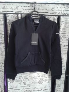 19.31$  Buy now - http://virjm.justgood.pw/vig/item.php?t=hqzp51s28634 - Reebok Women Skinny Style Sweatshirt Hooded Hoody Black Size S Women Fashion
