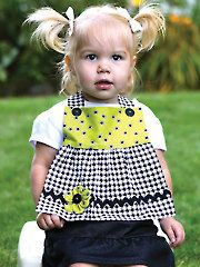 Pretty in Bibs Sewing Pattern - #354342 Easy skill level but great when you want a little dressier bib for the little one and great to make as shower gifts, etc  kf
