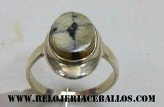 sortija de quiastolita, piedra de San Andres