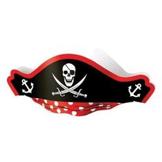US Toy Pirate Captain Cardboard Party Hats Costume 2Pack of 12 -- Details can be found by clicking on the image.