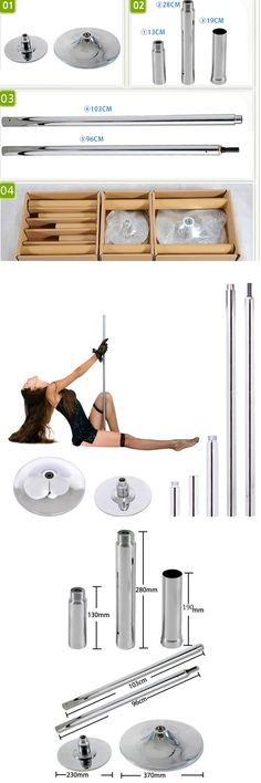Dance Poles and Accessories 179805: New 45Mm Solid Dancing Dance Pole Fitness Portable Static Stripper Exercise BUY IT NOW ONLY: $99.99