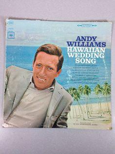 Andy Williams Vinyl LP Hawaiian Wedding Song Columbia Records #EasyListening