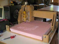 Самодельный ЧПУ станок или CNC в дома: марта 2009 - смотреть видео