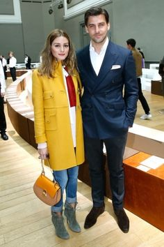 Olivia Palermo and Johannes Huebl at Chloé show. Click on the image to see more.