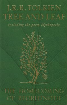 Tree and Leaf by JRR Tolkien... not many people have read mythopoeia and all who have not are missing something.