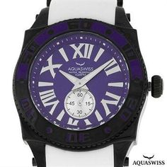 AUTHENTIC AQUASWISS SWISSPORT G 44mm STAINLESS STEEL SWISS WATCH RETAIL $1400.00! Less Than $230!!!