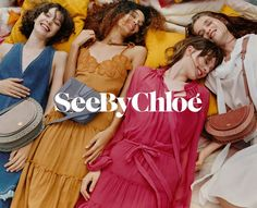 See By Chloe enlists a cast of fresh faces for its spring-summer 2018 campaign. Captured by Oliver Hadlee Pearch, models Julia Nicole Meyer, Nandy Nicodeme… Fashion Poses, Fashion Photo, Nicole Meyer, Chloe Fashion, Chloe Clothing, Summer Campaign, Campaign Fashion, Fashion Advertising, Advertising Photography