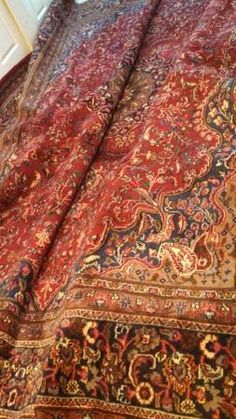 Old Authentic Persian rug 12.6'x10' $420