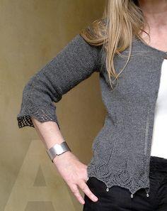 Ravelry: dewdrop cardigan pattern by atelier alfa