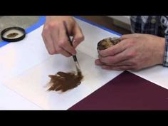 Andy Skinner : Stamping Technique with Metallic Lustre