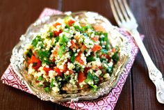 Tabbouleh Yummy Food, Yummy Recipes, Potato Salad, Potatoes, Ethnic Recipes, Bulgur, Tasty Food Recipes, Delicious Food, Potato