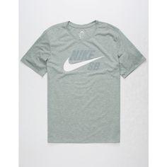 Nike Sb Dri-Fit Futura T-Shirt ($30) ❤ liked on Polyvore featuring men's fashion, men's clothing, men's shirts, men's t-shirts, mens dri fit shirts, nike mens t shirts, nike mens shirts, mens short sleeve t shirts and j crew mens shirts