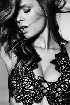 The Dream Angels Bralette. You've got this, Valentine.   Victoria's Secret - lingerie, sensual, robe, curves, blue, set lingerie *ad