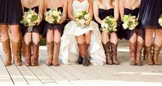 Wedding Cowboy Boots not so much style!