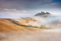 To Live In The Mists: Villages Of Poland And Italy Captured In The Mist