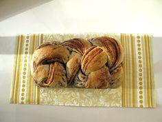 Nutella & peanut butter bread!