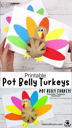 Pot Belly Turkey Craft