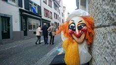 Basler Fasnacht 2019, Larve spontan gesehen und fotografiert Basel, Halloween Face Makeup