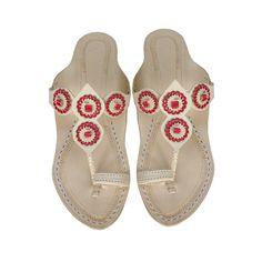 Natural Platform Heel Designers Handmade Leather Sandal DLC-W-529 by kolhapurichappals on Etsy