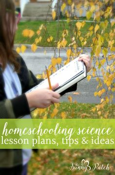 Through the years we've collected lots of homeschooling science lesson plans, resources, tips and ideas. Check out this page to find our best homeschooling resources for science lessons.