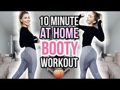 10 MINUTE AT HOME BOOTY WORKOUT | NO EQUIPMENT NEEDED! - YouTube