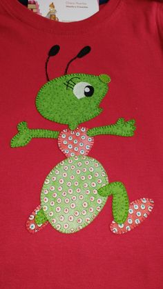 Camiseta Quilt Patterns Free, Applique Patterns, Applique Designs, Applique Stitches, Embroidery Applique, Diy Sewing Projects, Sewing Crafts, Sampler Quilts, Animal Quilts