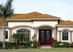 41 Ideas for exterior house siding front elevation Exterior House Siding, Dream House Exterior, Facade House, Exterior Paint, House Outside Design, House Front Design, Small House Design, Bungalow Floor Plans, Modern Bungalow House