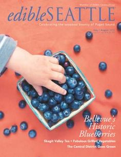 I shot this cover for the awesome Edible Seattle Magazine :)