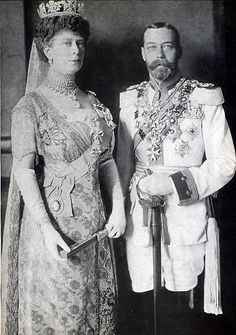 George V & Queen Mary, Berlin, 24 May 1913