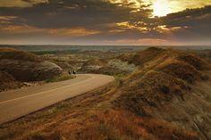Landschaftsfotografie im Sonnenuntergang
