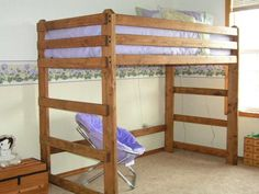 The Loft Bunk Bed is available