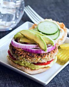 Zucchini Garden Burgers #MeatlessMonday