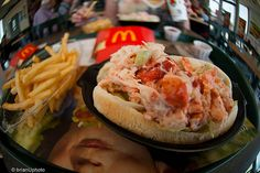 Canada: McLobster - Not that I am into fast food, but that's something I am curious to try :)