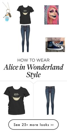 """""""OOTD"""" by kinvesandpens on Polyvore featuring rag & bone, Converse, Disney and plus size clothing"""