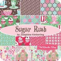 Sugar Rush Fat Quarter BundleJosephine Kimberling for Blend Fabrics