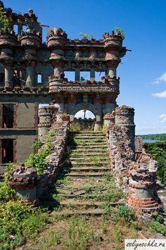 Руины замка Баннермана