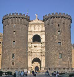 Naples, Castel Nuovo (aka Maschio Angoiono), Entrance Facade