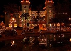 Saint Augustine Florida Christmas Lights | Christmas lights in St. Augustine photo - Wolf's Head photos at pbase ...