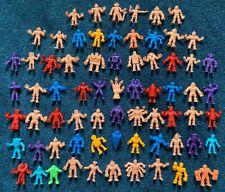 "Mattel M.U.S.C.L.E. Men 69-Figure Lot: w/ ""Claw"" KINNIKUMAN LOOK! Some RARE! Claws, Muscle, Men, Guys, Muscles"