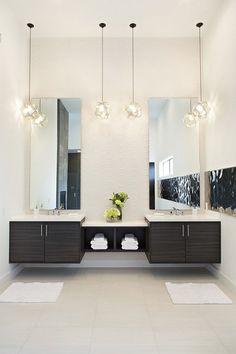 Image result for bathrooms with two vanities