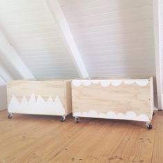 Home made toy boxes, DIY plywood