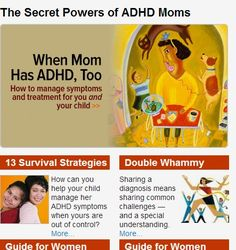 Parenting Guide for ADHD Moms: Discipline, Organization, Housework - Collection of articles and a podcast for and about women