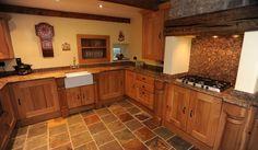 country oak kitchens - Google Search