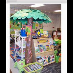 Book Area....Umbrella PalmTree